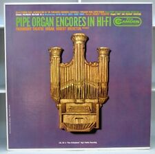 ROBERT BRERETON Pipe Organ Encores in Hi Fi  LP  1960s Mono Album RCA Camden
