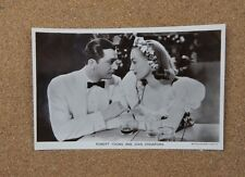 Robert Young & Joan Crawford p228 Film Partners Real Photo Postcard xc2