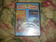 Treasure Island/The Amazing Zorro (DVD, 2002) Double Feature, Movie Toon, NEW