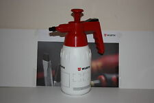 Wurth Brake Cleaner Pump Heavy Duty 1Ltr Bottle Adjustable Dispenser Any Solvent