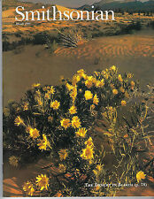 MARCH 1995 SMITHSONIAN MAGAZINE FEATURING THE DESERT IN BLOOM ON THE COVER