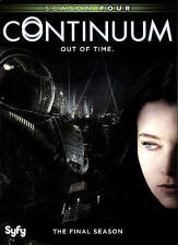 Continuum: The Final Season Four 4 (DVD, 2016, 2-Disc Set) New Syfy