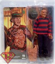 "FREDDY KRUEGER A Nightmare on Elm Street 3 Dream Warriors Clothed 8"" Figure 2015"