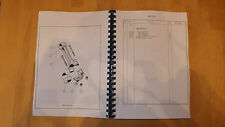 Vickers Vigor.Tractor,Crawler,Size 1,Illustrated parts list.Bulldozer manual.