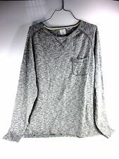 VOLCOM STAND NOT SWEATER COLOR: METAL COMBINED COTTON MEN'S SIZE EXTRA LARGE NEW