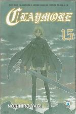 MANGA - Claymore N° 15 - Point Break 116 - Star Comics - USATO Sufficiente