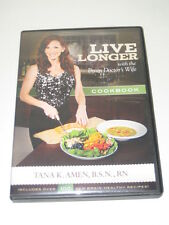 Live Longer with the Brain Doctor's Wife Cookbook DVD