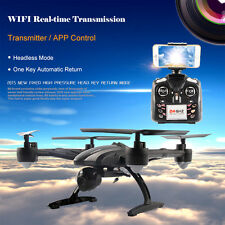 JXD-509W WIFI FPV Real-time Transmission 2.4GHz 720P CAM 4CH 6Axis Gyro RC Drone