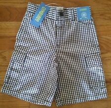 NEW Gymboree Brown & White Cargo Shorts  Boys Size 4