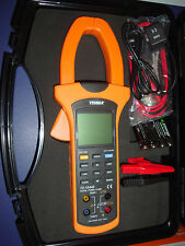 TENMA 72-10440 DIGITAL POWER CLAMP METER IN HARD CASE. NEW IN BOX