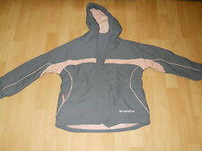 dare2be Girl's Grey and Pink Ski Jacket Height 117cm