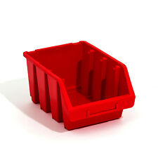 5 Stck. Ergobox Sortierkästen Stapelboxen rot Gr. 3 170x240x126 mm Lagerbox