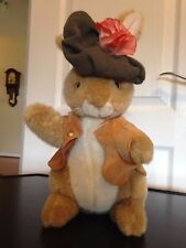 Beatrix Potter BENJAMIN Bunny  by Eden OF the Peter Rabbit Family-PLUSH 13""
