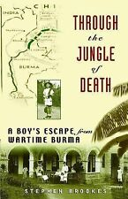 THROUGH JUNGLE OF DEATH,WWII,a boys escape from wartime Burma,Japan,hbj,1ar2000