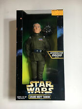 "GRAND MOFF TARKIN Star Wars Kenner 1997 12"" Action Figure Mint Peter Cushing"