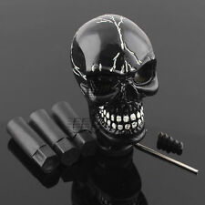 Skull Head Universal Car Truck Manual Stick Gear Shift Knob Lever Shifter Black
