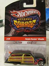 Hot Wheels Larry's Garage Real Riders Purple Passion Woodie Black