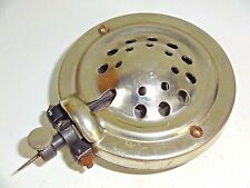 OLD 1920s ? BRUNSWICK PORTABLE PHONOGRAPH Part / Piece - Chrome Metal Reproducer
