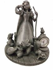 Snow White and forest friends Pewter Clock - Disney Princess Exclusive