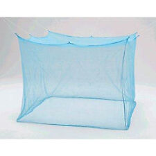 "7X7 EXTRA LARGE SIZE DOUBLE BED NYLON MOSQUITO NET  FEET(84""X84"") WASHABLE"