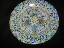 222 Fifth Round Salad Plates -  Aisha. Set Of 4 - New
