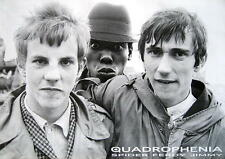 "QUADROPHENIA POSTER ""SPIDER FERDY JIMMY"""