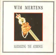 WIM MERTENS - MAXIMING THE AUDIENCE (1989 CLASSICAL CD ITALY)