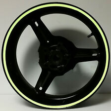 GREEN REFLECTIVE WHEEL STRIPES RIM STICKERS TAPE DECALS HONDA CBR 250RR 250 RR