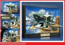 THE THUNDERBIRDS Diorama 3D REAL ATWORK resine 16kg! 100 ex World statue figure