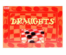 Draughts Set Pieces and Board Game Checkers for all the Family NEW