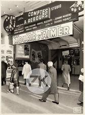 MOURIR D'AIMER Cinéma FACADE Ferracci GIRARDOT Marseille Cayatte Photo 1971