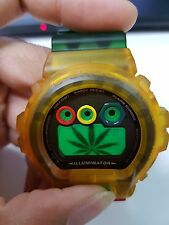 G-Shock Vintage SuperRare Love Rastafarian Jelly Reggae Hiphop Bobmarley Limited