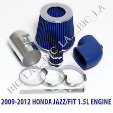 BLUE 2009 2010 2011 2012 HONDA JAZZ FIT LX DX 1.5 1.5L AIR INTAKE KIT SYSTEMS