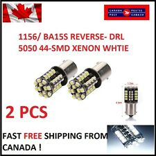 2x White Canbus No Error 1156 BA15S P21W LED Car Tail Backup Reverse Light Bulb