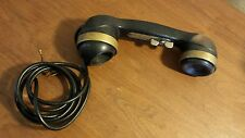WWII US Army Military Field Phone TS-9 H Vintage Handset Telephone with Cord