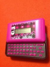 MONSTER HIGH SMS TEXT MESSENGER/ORGANIZER Tested Works Perfect