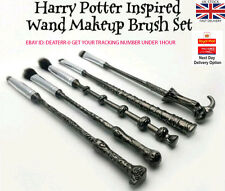 GENUINE 5pcs of new HARRY POTTER MAKE UP BRUSHES MAKEUP cosmetics WAND BRUSH SET