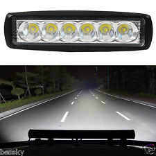 18W Flood LED Light Work Bar Lamp Driving Fog Offroad SUV 4WD Car Boat Truck New