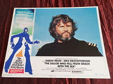 THE SAILOR WHO FELL FROM GRACE WITH THE SEA- KRIS KRISTOFFERSON LOBBY CARD-11X14