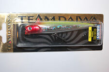 "team daiwa t.d. pencil hollow mouth 4 3/8"" 1/2oz bass topwater chrome clown"