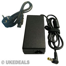 FOR TOSHIBA EQUIUM U400-124 AC ADAPTER LAPTOP CHARGER EU CHARGEURS