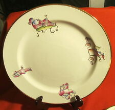 Rosanna Made in Italy ~ Merry Christmas Baby ~ Chop Plate (Round Platter)