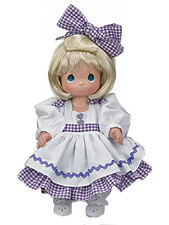 "Precious Moment 12"" Vinyl Doll Blonde by Linda Rick 3rd Edition w Gift Box NEW"