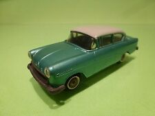 TEKNO DENMARK - 720 OPEL REKORD - GREEN + WHITE ROOF  RARE - NEAR MINT CONDITION
