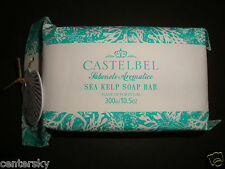 New Castelbel Made in Portugal 10.5 oz 300 g Large Luxury Bath Bar Soap Sea Kelp