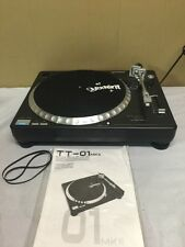 Gemini TT-01 TT01 Full Manual Belt -drive Turntable Vinyl