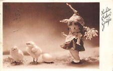 BG20593 toy girl chick egg ostern easter germany
