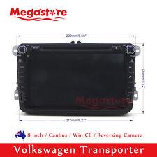 "8"" Car DVD Nav GPS Head Unit Stereo Radio For Volkswagen Transporter 2010-2016"