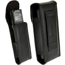 Genuine Leather Case Cover for Olympus VN-713PC, 732PC, 8600PC Voice Recorders