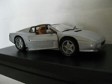 DETAIL CARS DETAILCARS 1:43 AUTO DIE CAST FERRARI 512 TR SPYDER GRIGIO ART 143